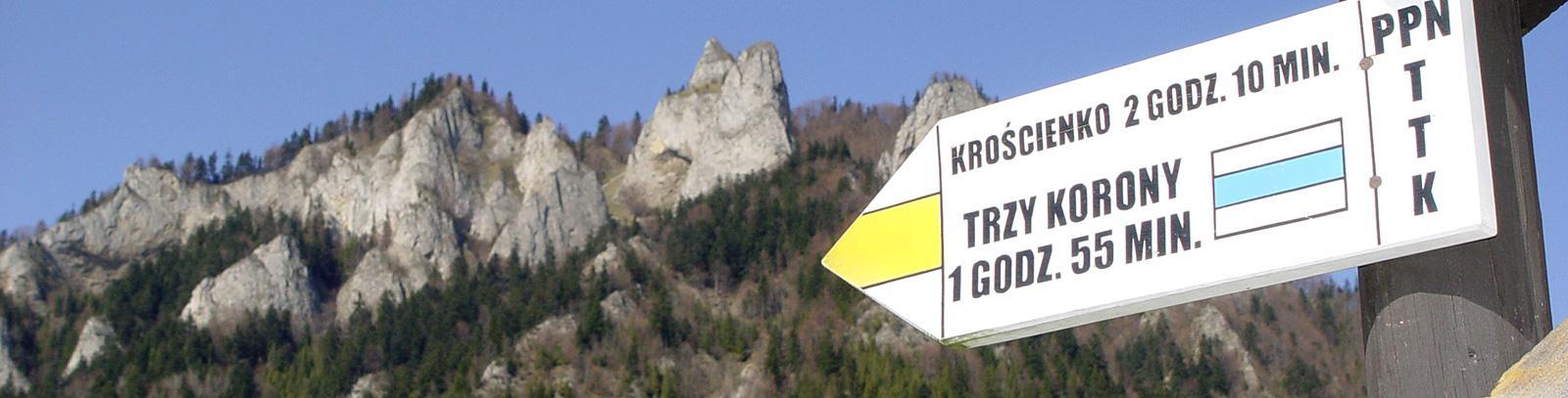 szlak na Trzy Korony w Pieninach