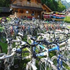 wypozyczalnia rowerów Sromowce