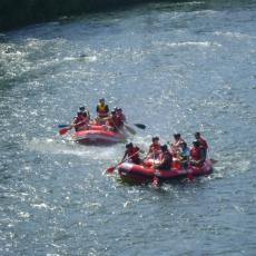 Rafting na rzece Dunajec w Sromowcach Niżnych