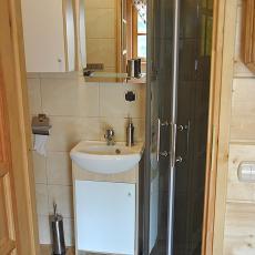 Samodzielny Domek Pod pstrągiem - łazienka
