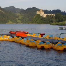 Jezioro Czorsztyńskie - przystań