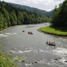 Przełom Dunajca w Pieninach