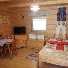 Sypialnia Pod pstragiem w Sromowcach Niznych