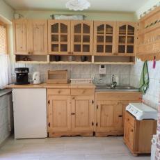Kuchnia dla apartamentu pod pstrągiem