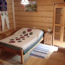 Sypialnia dl 2 osób w apartamencie
